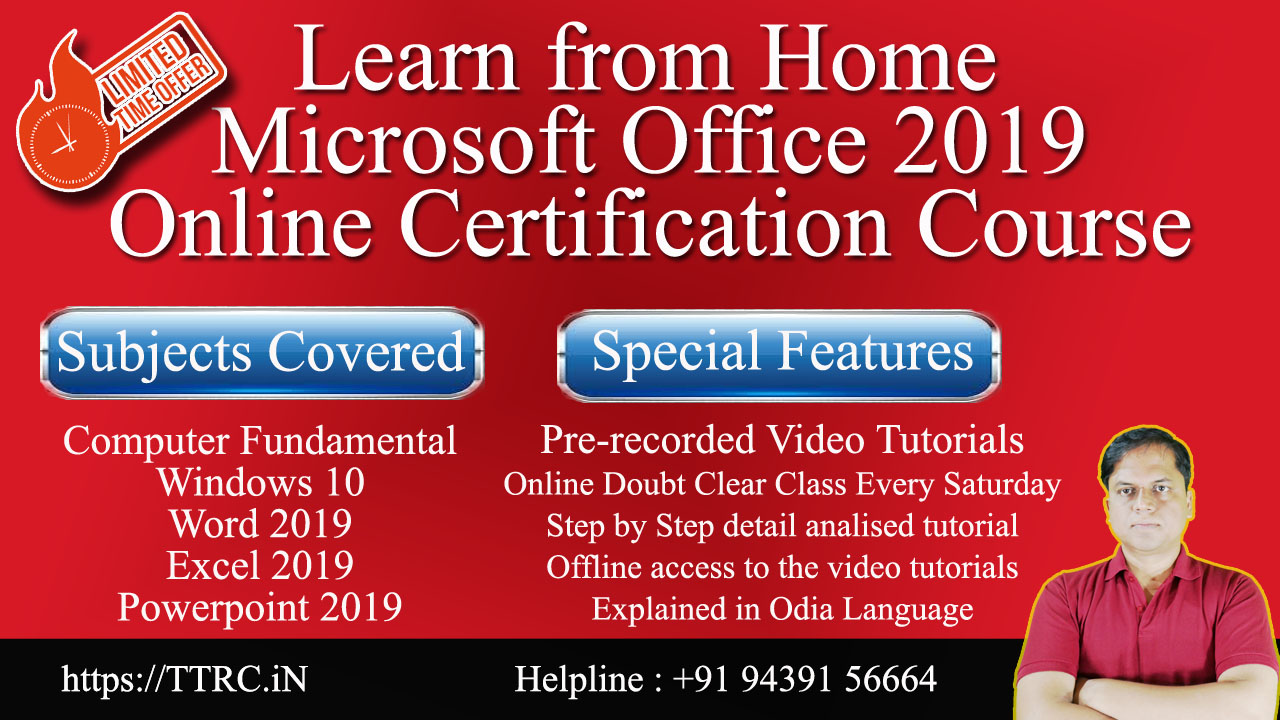 ms office 2019 learn online